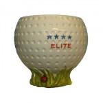 Tome o seu café nesta caneca em forma de golfe!
