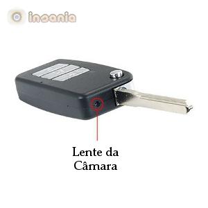 Um dispositivo totalmente discreto para poder realizar filmagens sem que ninguém desconfie!