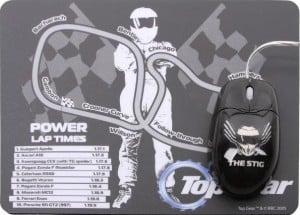Kit rato/tapete Top Gear para os fãs