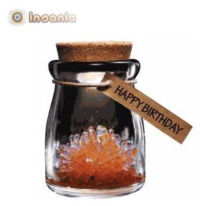 Um presente divertido para festejar um aniversário