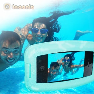Capa para proteger o seu iPhone/Blackberry da água